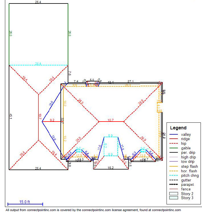 pricing - Roof Measurements